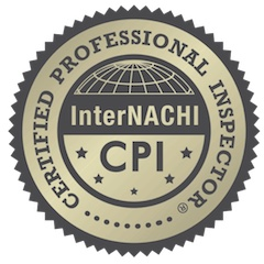 Certtified Professional Inspector InterNACHI badge.